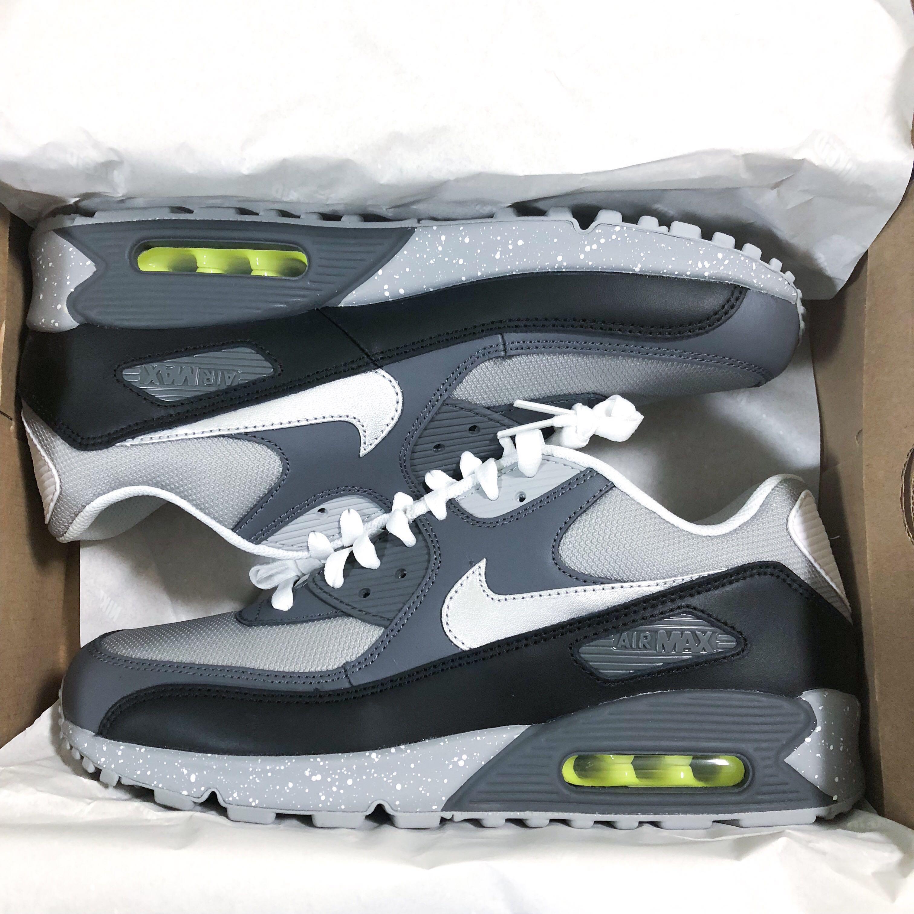 a277380bf6 US9.5 John Mayer Nike 'Spirit Level' Air Max 90 (Air Mayer), Men's Fashion,  Footwear, Sneakers on Carousell