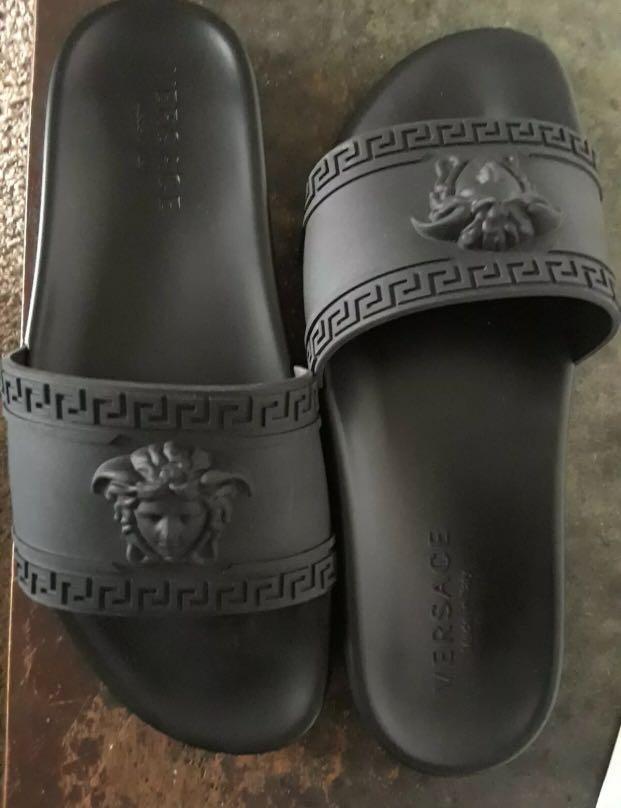 Versace slides mens size 10US