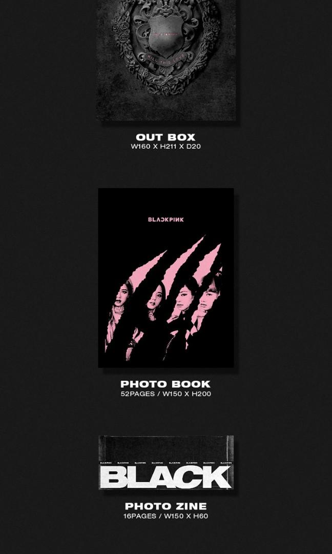 (Version Choice) BLACKPINK - Kill This Love | 2nd Mini Album | Pre-order