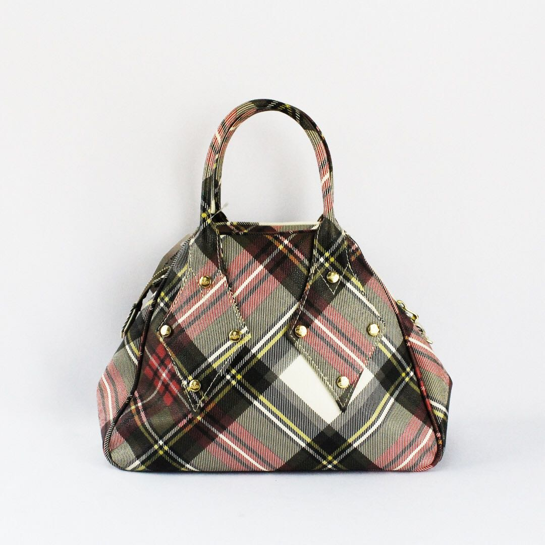 fa6fdc1c6d Vivienne Westwood Derby Tartan Tote Bag -Preowned like new, Women's ...