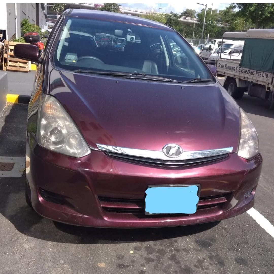 Weekend/Weekly/Monthly Toyota Wish ( Personal-Grab-Gojek )
