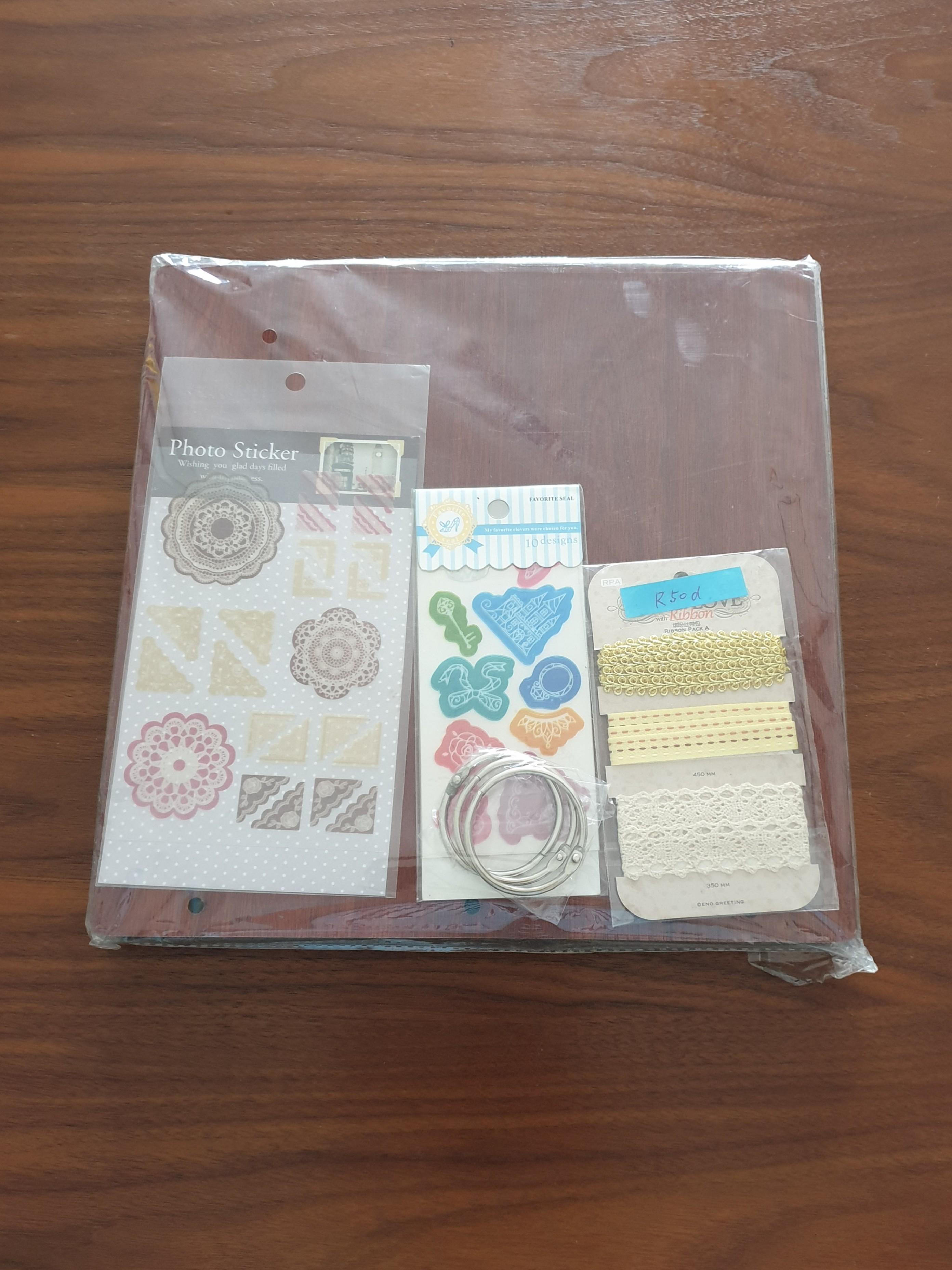 Wooden Scrap Book DIY Kit #EndGameYourExcess