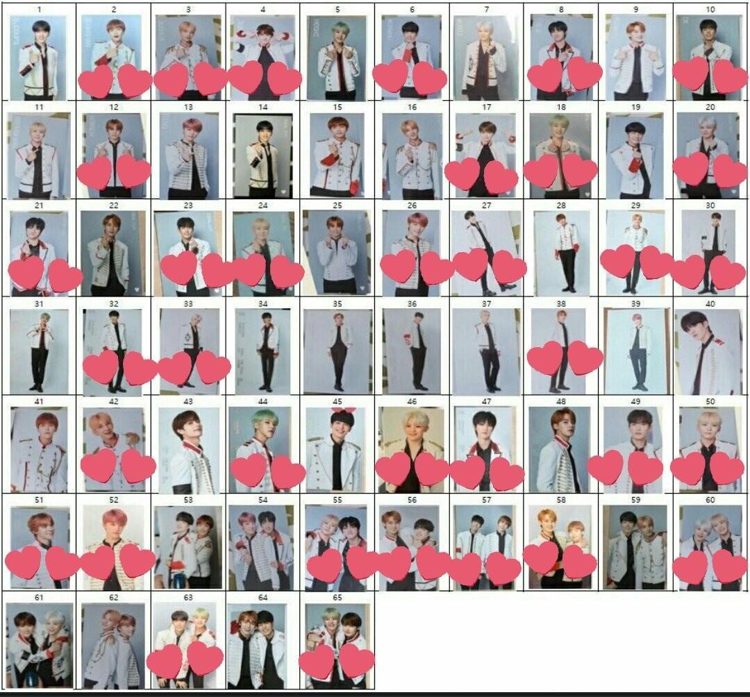 [WTT/WTS] Seventeen Ideal Cut Encore The Final Scene / 2019 Season's Greetings Photocards