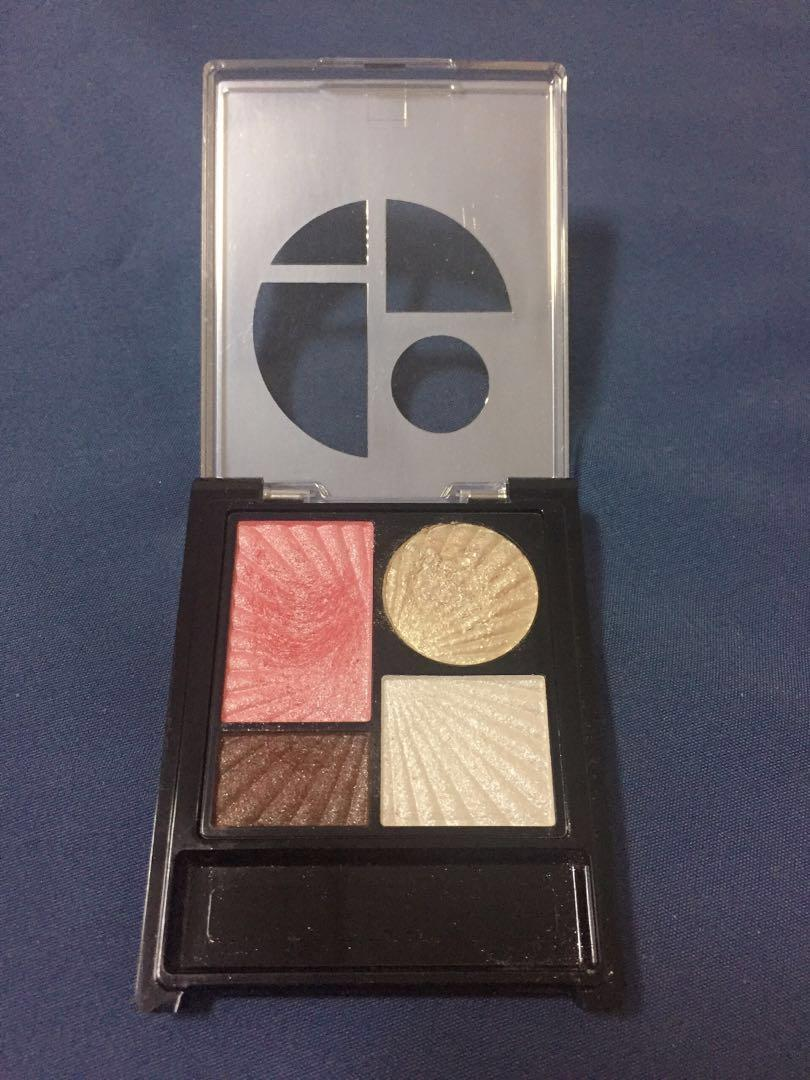 ZA 金屬光寶石眼影盒 PK211 粉紅色