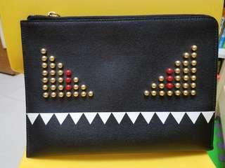 FENDI monster clutch