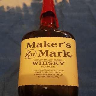 Maker's Mark Whisky (1L)