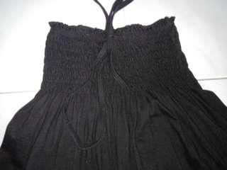Black Tube Dress Stretchable