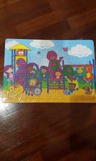 Puzzle Barney Play Ground
