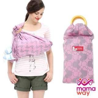 MIT台灣品牌「Mamaway」迪士尼米奇萬花筒育兒揹巾哺乳背巾