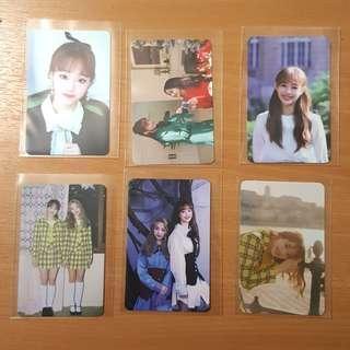 WTS Loona Chuu Photocards