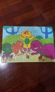 Puzzle Barney Play Together