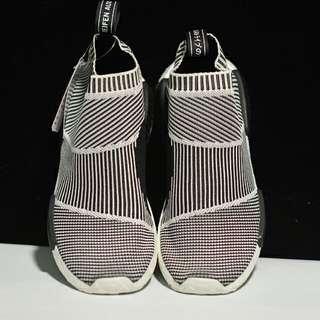 全新Adidas NMD Mid City Sock NMD夜光條紋 黑灰條紋