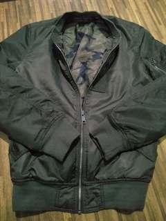 Jaket bomber / jacket alpha army