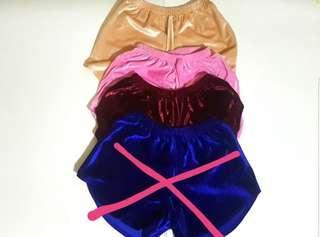 Dolphin Shorts ( Velvet)