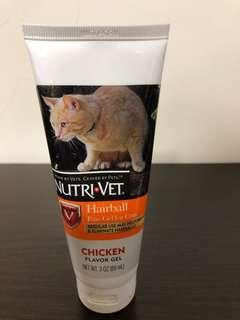 Nutri vet 貓用去毛球膏 雞肉味