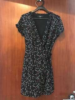 Pomelo Fashion Wrap Dress