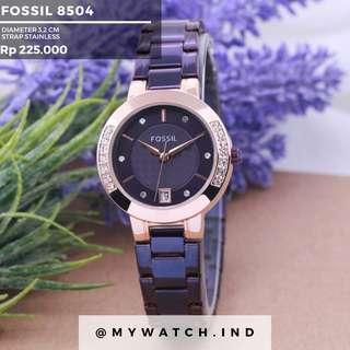 Jam tangan Fossil 8504
