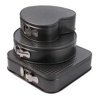 Ready stock -Cake Mould 3 In1 Nonstick Baking Mold Cake Pan/Acuan Kek