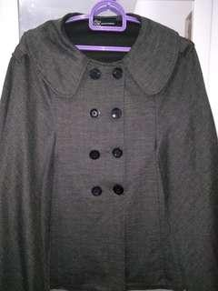 Casual cape jacket
