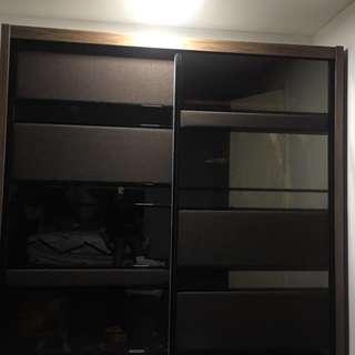 Melamine Wood Wardrobe