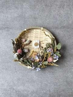 Dried and Preserved Flowers Wild English Garden Bamboo Decor