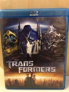 Transformers 變形金剛 Blu-Ray Disc 藍光碟