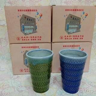 🚚 杯子組(1藍1綠) 大降價-4組8入$300(含運)