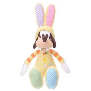 有現貨 日本直送 JAPAN DISNEY STORE 2019 EASTER GOOFY SOFT TOY 復活節 高飛 毛公仔 2019 (全新)空運到港