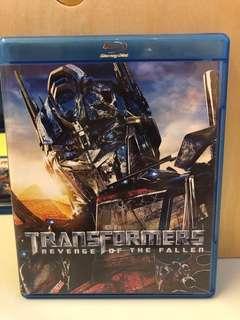 Transformers Revenge of the Fallen Blu-Ray Disc