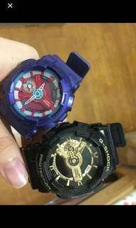 Gshock 黑金 錶