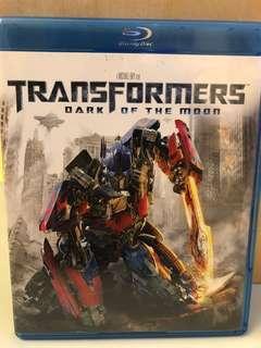 Transformers: Dark of the Moon Blu-Ray Disc