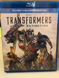 Transformers: Age of Extinction Blu-Ray Disc