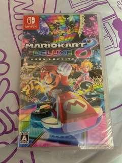 Switch Game Mario Kart 全新未開