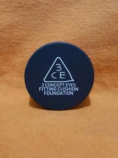 3CE FITTING CUSHION FOUNDATION SPF 50+,PA+++ SHADE 002 NATURAL
