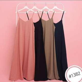 Lola overall dress