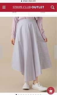 日本購回 全新 chocol raffine 不規則 半截裙 橡筋腰