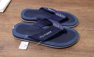 100% New Tommy Hilfiger Men Flip-Flop Sandals 深藍色 男士人字拖鞋 41