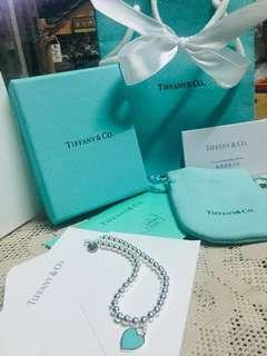 🚚 香港帶回 Tiffany&co 正品 經典純銀手鍊