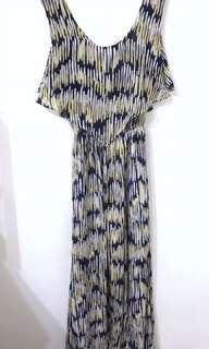 🚚 韓國連身洋裝 雪紡洋裝