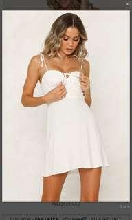Hello Molly white dress - size 10 BNWT