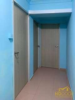 Hdb wooden laminated bedroom door