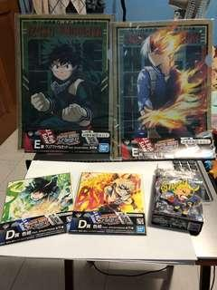 All for 15!! Ichiban kuji my hero academy