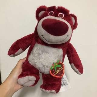 🚚 草莓味🍓熊抱哥 抱哥 中型娃娃