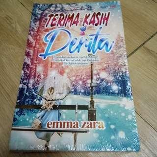 Novel baru terima kasih derita karya emma zara