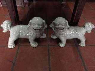 Pair of Fu Dogs