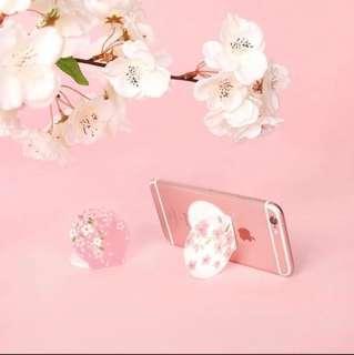 Korea Cherry Blossom Mobile Phone Sticker Stand 韓國櫻花手機架