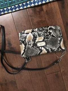New Nine West side purse