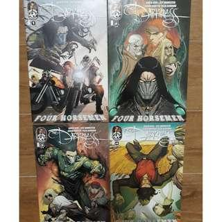 (Clearance Sale)HUGE BUNDLE DEAL 12 The Darkness Comics + FREEBIES only selling as a set from Top Cow Not Image, DC, Marvel 2010-2013