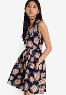 (QUICK DEAL) Zalora Love Fit & Flare Blazer Dress