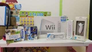 Wii 全套 (懷疑燒左火牛)